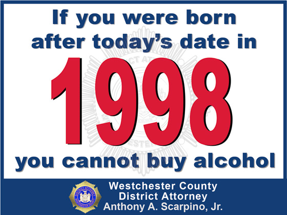 image of the Legal Drinking Age Placard