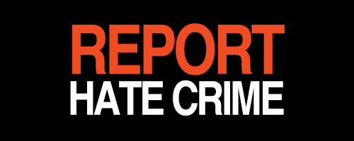image of Report Hate Crime text